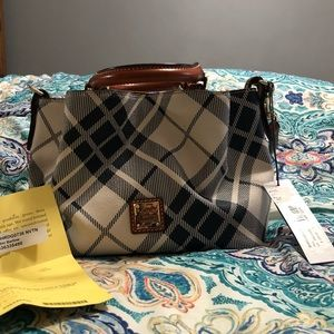 Dooney & Bourke Mini Barlow Blue Plaid